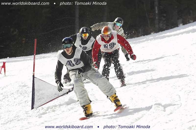 skiboardercross